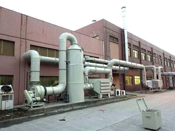 活性炭吸附塔在实际中的应用