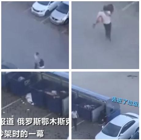 吵架吵不过将女朋友扔垃圾桶 这才是和女朋友吵架的正确姿势!