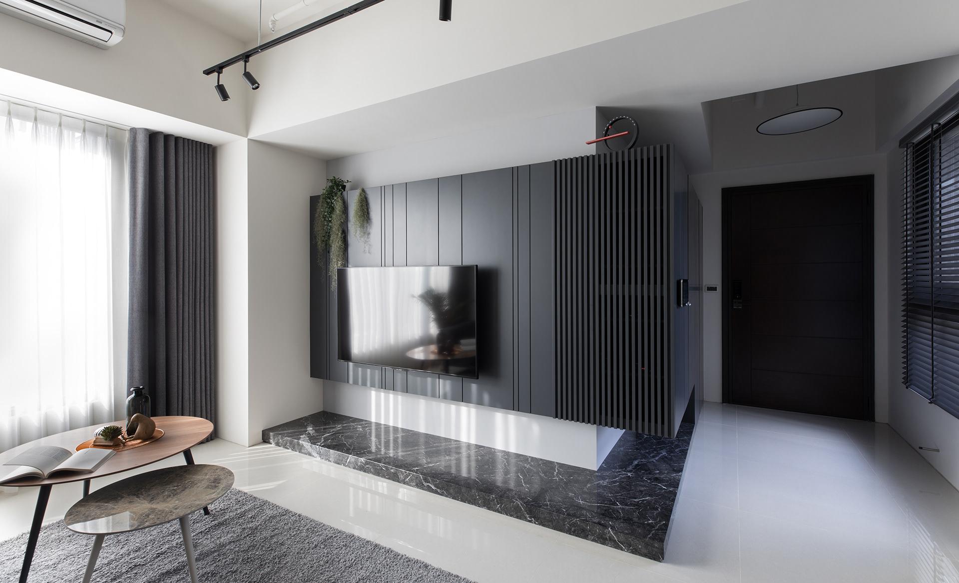 75平米婚房简约风格装修效果图